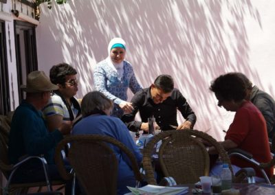 Rencontres marocaines stage d'aquarelle