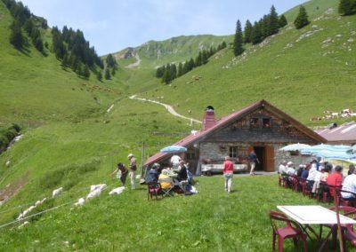 Stage aquarelle et carnet de voyage à Novel Haute Savoie avec François Beaumont