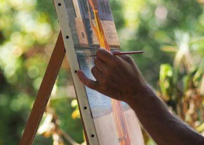 Stage de peinture à l'huile en Provence avec François Beaumont