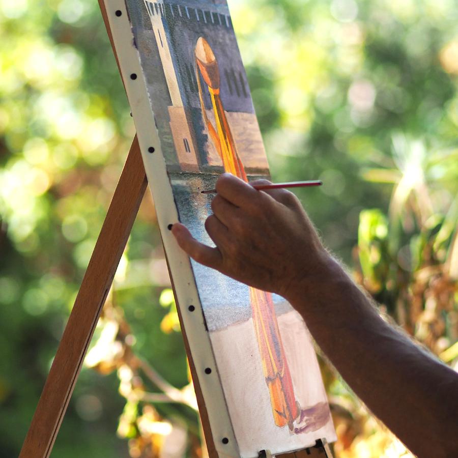 Stages de peinture en Provence et Maroc