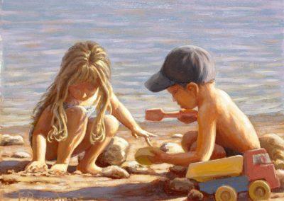 Peinture à l'huile François Beaumont stages d'aquarelle, huile et carnet de voyage en Provence et au Maroc.