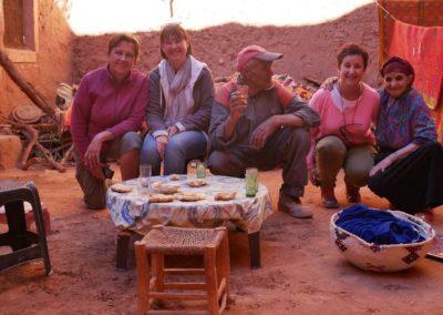 Vallée de l' Ounila stage aquarelle et carnet de voyage au Maroc avec François Beaumont