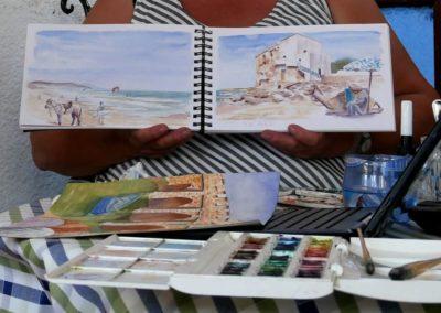Essaouira stage carnet de voyage au Maroc avec François Beaumont